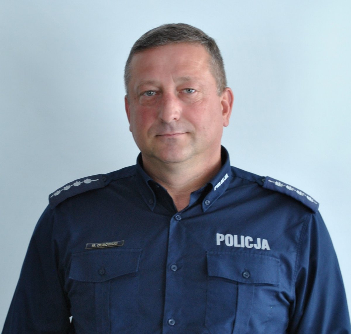 aspirant sztabowy Mariusz Dębowski